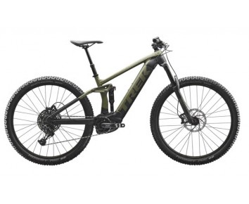 Trek Rail 5 2020 e mtb Matte Olive Grey/Trek Black