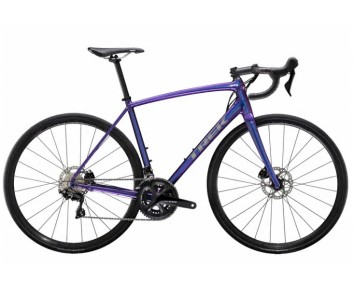 Trek Emonda ALR 5 Disc Road Bike 2020 Purple Flip or Slate to Trek Black Fade