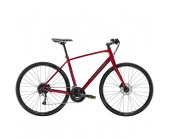 Trek FX 3 Disc 2020 Hybrid Bike Rage Red or Crystal White