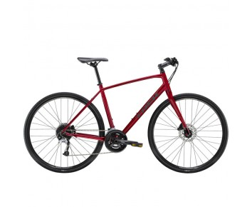 Trek FX 3 Disc Hybrid Bike Rage Red or Crystal White