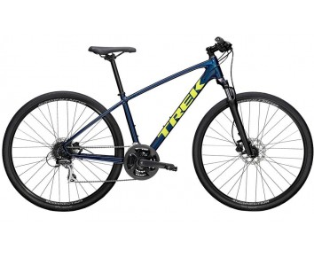 Trek Dual Sport 2 Front Suspension hybrid Mulsanne Blue or Metallic Gun Metal