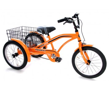 "Mission TR3KOOL 16"" wheel trike adaptable for special needs."