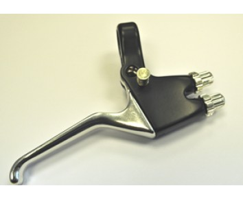 Brake lever Dual Function operates front and Rear Brake from 1 lever