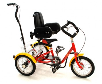 Mission Musketeer rear steer tricycle 14 inch wheel