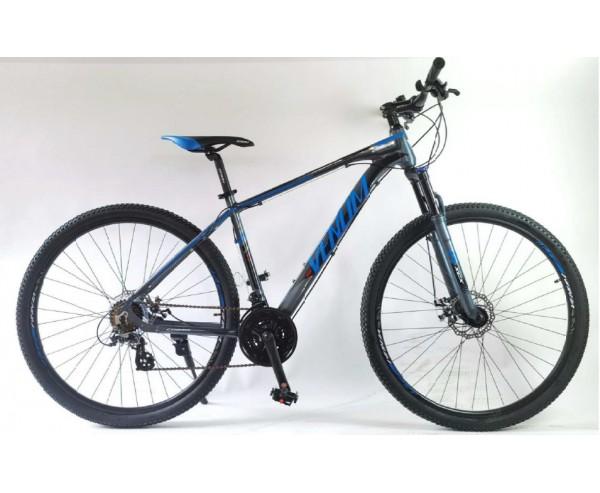"Venum Cobra 29"" Wheel Hardtail MTB Grey and Blue"