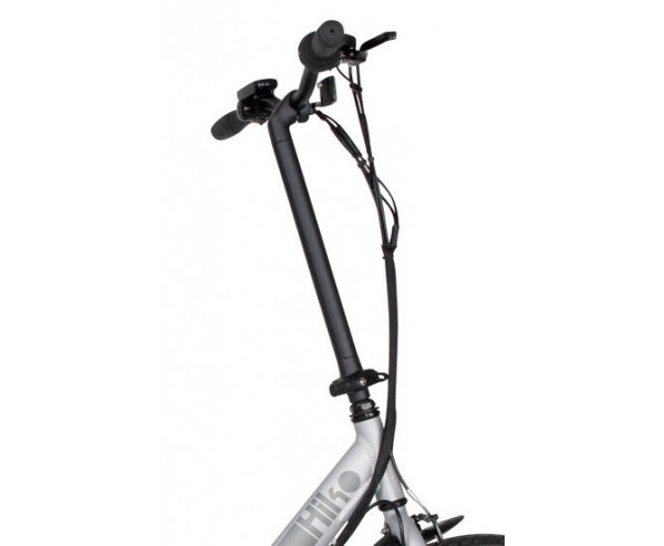 "Viking Viking Hiko Alloy Folding Electric Bike 6 SPEED, 36V E-BIKE, 20"" WHEEL, MATT SILVER"