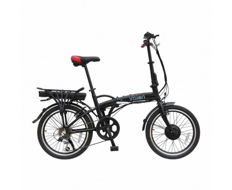 "Viking VISION, ebike 6 SPEED, 36V E-BIKE, 20"" WHEEL, MATT BLACK"