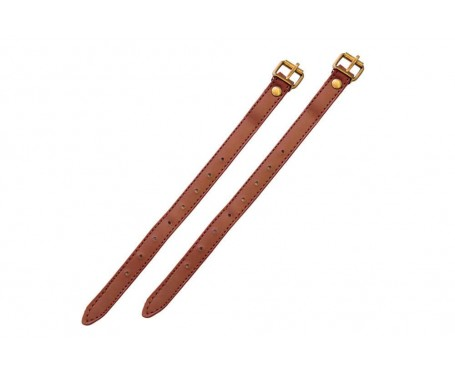 Wicker basket Straps Pair